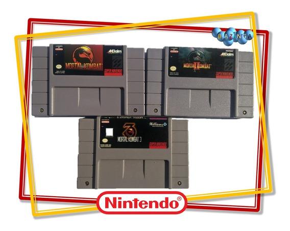 Trilogia Mortal Kombat Original - Mortal Kombat 1 2 E 3