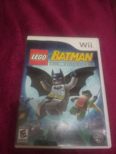 Wii - Lego Batman The Video Game  Original 100% Ok