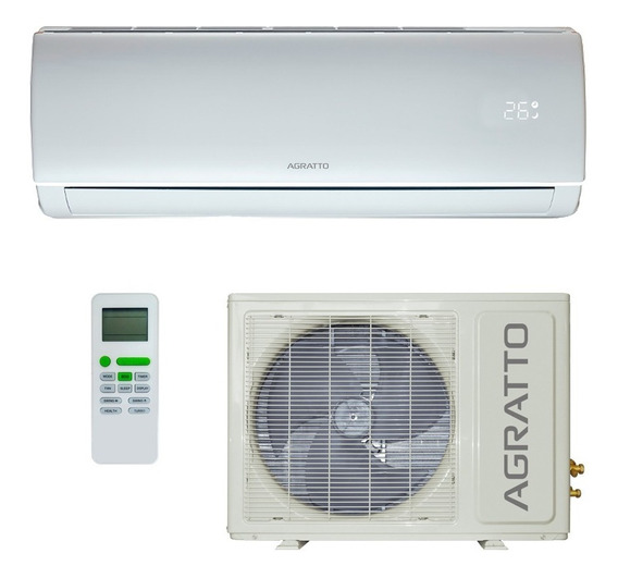 Ar Condicionado Split Hw Agratto Eco 9.000 Btus Quente/frio
