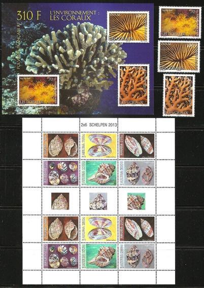 # Mcn # Lote Temático 84/17 - Fauna Marinha- X17 Séries Mint