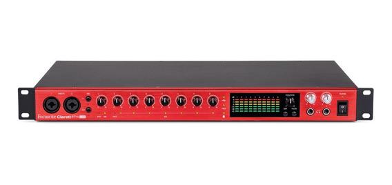 Interface De Audio Thunderbolt Usb-clarett 8pre -focusrite