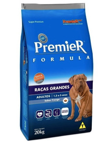 Ração Premier Fórmula P/ Cães Adultos De Raças Grandes 20kg
