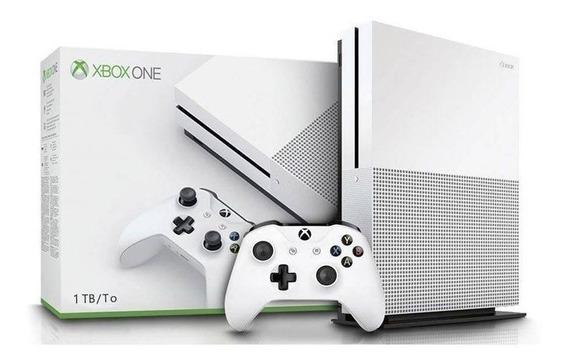 Xbox One S 1 Tb + 1 Controle + 1 Jogo