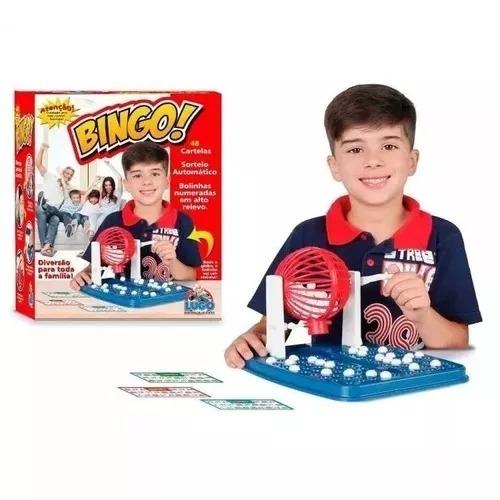 Mini Bingo Jogo De Bingo Globo 48 Cartelas 90 Bolas Lugo
