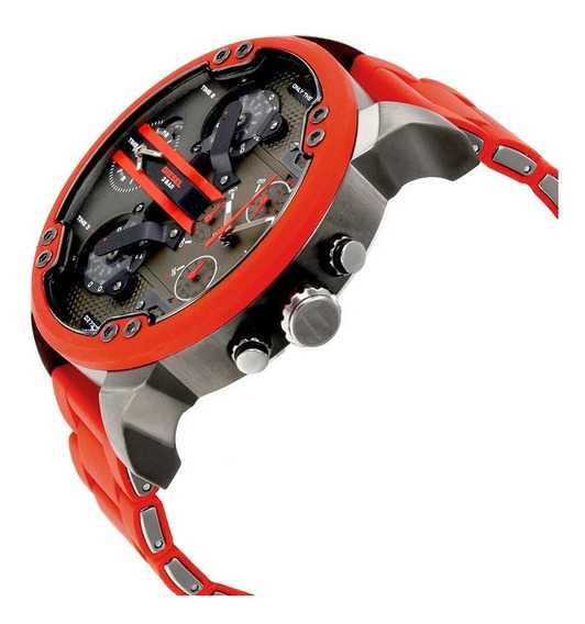 Relógio Diesel Dz7370 Mr. Daddy 100% Original 2 Anos Masculi