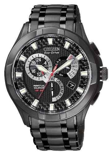 Relógio Citizen Bl8097-52e Bl8097 Calendario Perpetuo Black