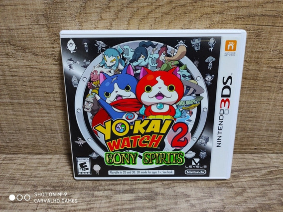 Yo Kai Watch 2 Bony Spirits - Nintendo 3ds