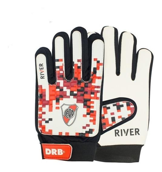 Guantes De Arquero Drb River Plate 2.0 De Niños