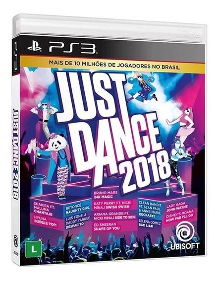 Just Dance 2018 - Ps3 - Mídia Física   Novo   Lacrado
