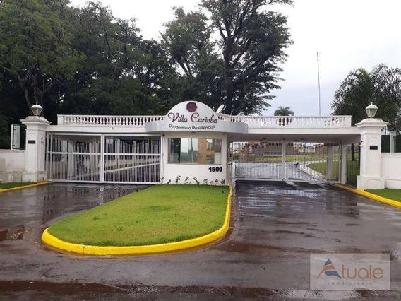 Terreno À Venda, 352 M² - Cariobinha - Americana/sp - Te0709