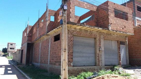 Casa Em Construção Próximo Ao Parque Das Feiras De Toritama