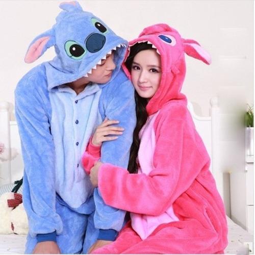 Kigurumi Pijama Adulto Plush  Stitch Precio Solo Por Unidad