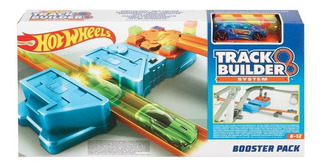 Hot Wheels Track Builder Acelerador Conjunto Gbn81 - Mattel