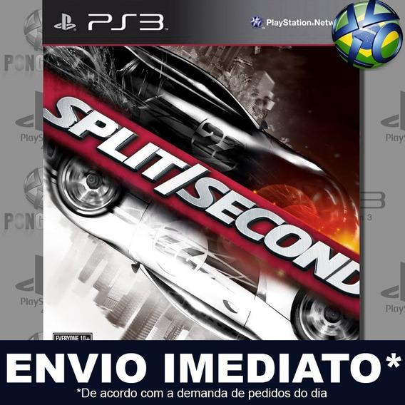 Split Second Ps3 Psn Jogo Em Promoção Pronta Entrega Play 3