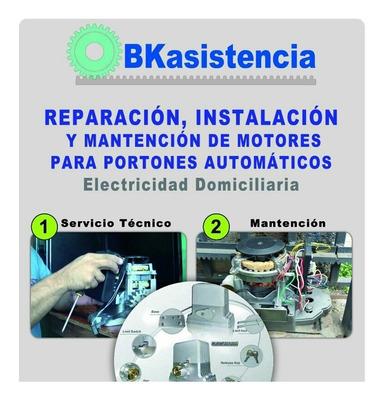 Instalación, Reparación Y Mantención De Motor Para Portón