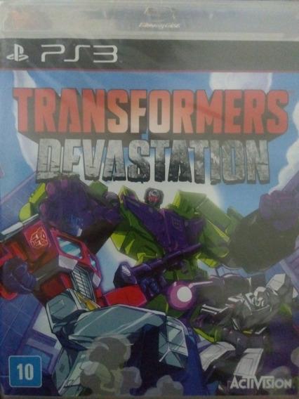 Transformers Devastation Ps3 Original , Novo , Lacrado