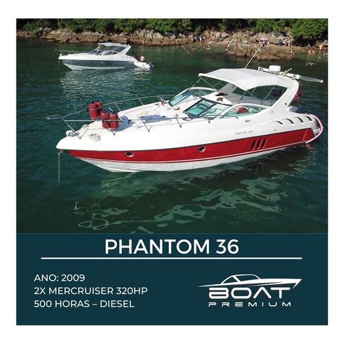 Imagem 1 de 1 de Phantom 36, 2009, 2x Mercruiser 320hp - Ferretti - Phantom