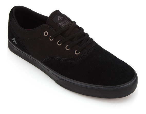 Emerica - Provost Silm Vulc - 27mx / All Black / Tenis Skate