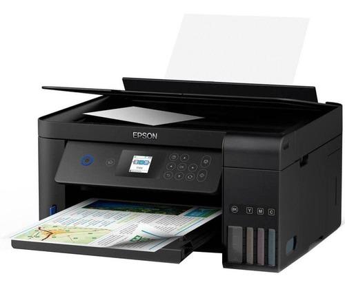 Impressora Multifuncional Epson Ecotank L4160 Wifi 110v/220v