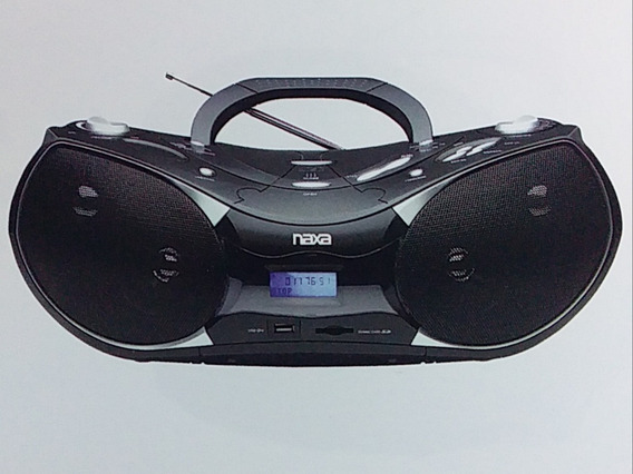 Reproductor Portatil Naxa Cd/mp3/usb/sd Radio Am/fm Stereo