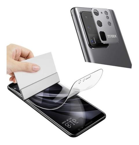 Film Hidrogel Curvo Samsung Note 20 Ultra + Camara Metal