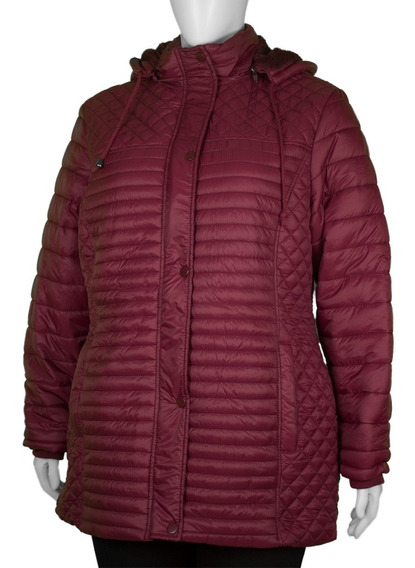 Casaco Feminino Acolchoada Confort Plus Size Tw-2211