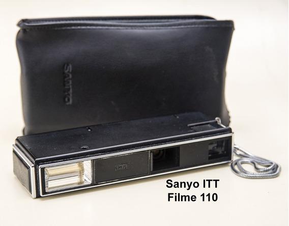 Câmera Fotográfica Sanyo Itt 110 Magic Flash Com Estojo