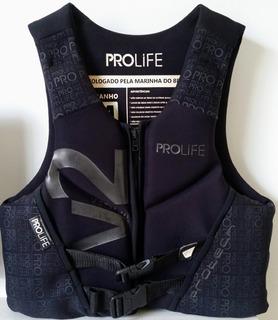 Colete Neoprene Prolife New Protech V2 Homologado Preto M