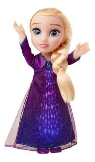 Muñeca Frozen Elsa Canta Y Se Ilumina 20703