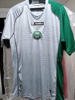 Camisa Coritiba Lotto 2007/08 Comemorativa Acesso Tam M