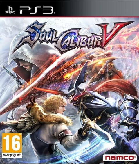 Jogo Soul Calibur V 5 Ps3 Mídia Físca Frete Gratis Original