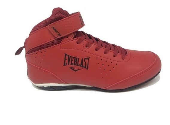 Tênis Cano Alto Everlast Jump Iii Vermelho Elm58c
