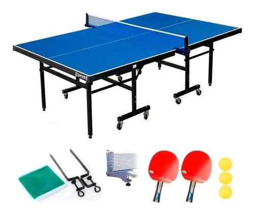 Mesa Ping Pong Profesional Plegable C/ Rueda + Regalo El Rey