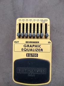 Pedal Eq700 Behringer Graphic Equalizer Usado