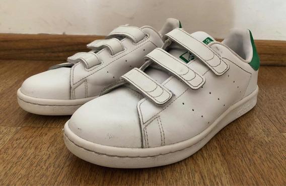 Zapatillas adidas Stan Smith Originales - Colegial Talle 2 U