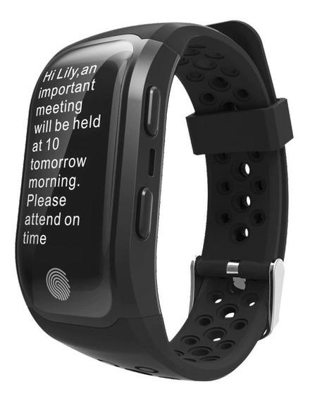 Relógio Smartband Gps Integrado S908 - Corrida Bike Esportes