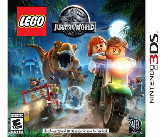 Lego Jurassic World - Nintendo 3ds 2ds - Lacrado + F Grátis