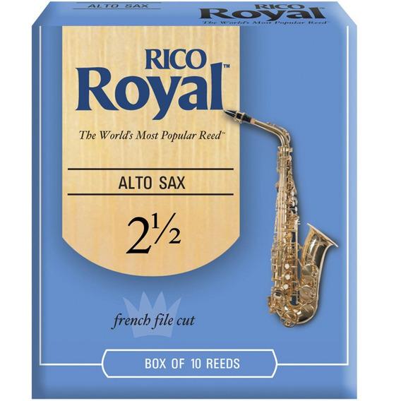Rico Royal Daddario Rjb1025 Caña 2,5 De Saxo Alto Pack X 10
