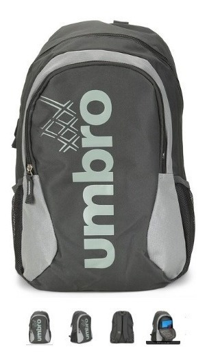 Mochila Umbro Prime Ii Com Porta Notebook - Grafite\cinza