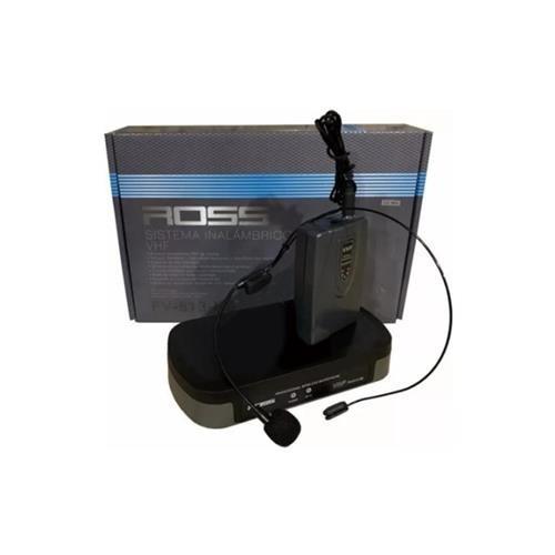 Sistema De Microfofono Inalambrico Vincha Vhf Ross Fv-513-hs