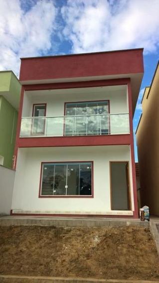 Casa Para Venda Em Porto Real, Nova Colônia, 3 Dormitórios, 1 Suíte, 3 Banheiros - 0904