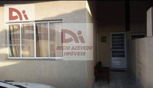 Casa Com 2 Dormitórios À Venda Por R$ 250.000,00 - Parque São Luís - Taubaté/sp - Ca0082