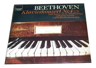 Beethoven Concierto Nº 4 Opus 58 Nº 5 Opus 73 ¡vinilo Nuevo!
