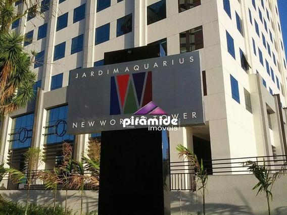 Sala Para Alugar, 43 M² Por R$ 1.250,00/mês - Jardim Aquarius - São José Dos Campos/sp - Sa0620