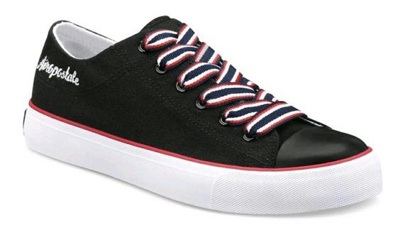 Sneaker Aeropostale Negros Originales Talla 22 A 27