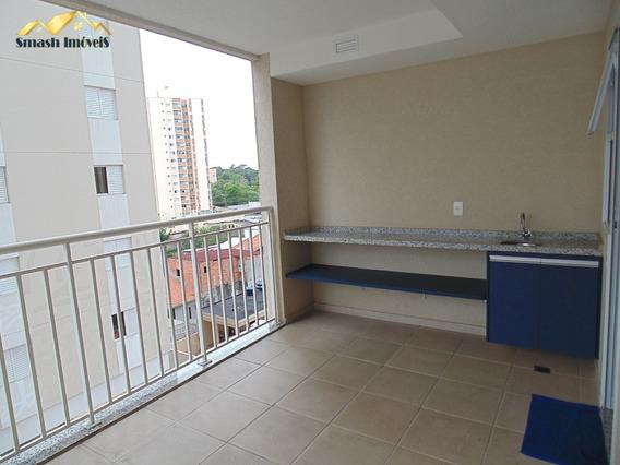 Apartamento 02 Dormitorios Com Suíte E Varanda Gourmet