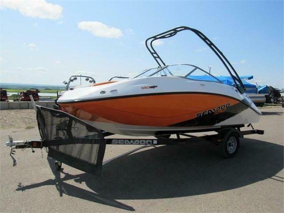 2012 Sea Doo Motorboat Y Su Remolque