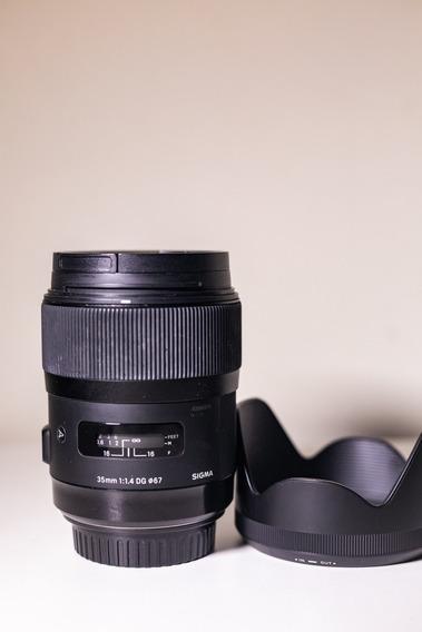 Sigma 35 1.4 Art - Canon