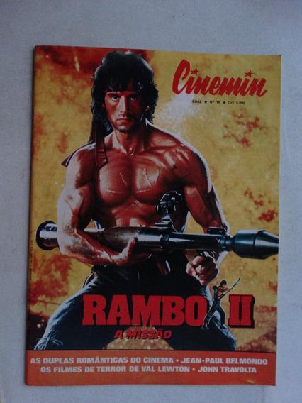 Cinemin Nº 16! 5ª Série! Ebal Julho 1985!