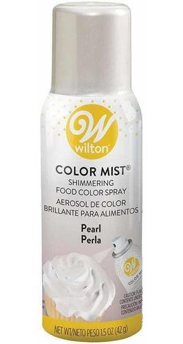 Color Mist  Comestible Aerosol Color Perla  Wilton